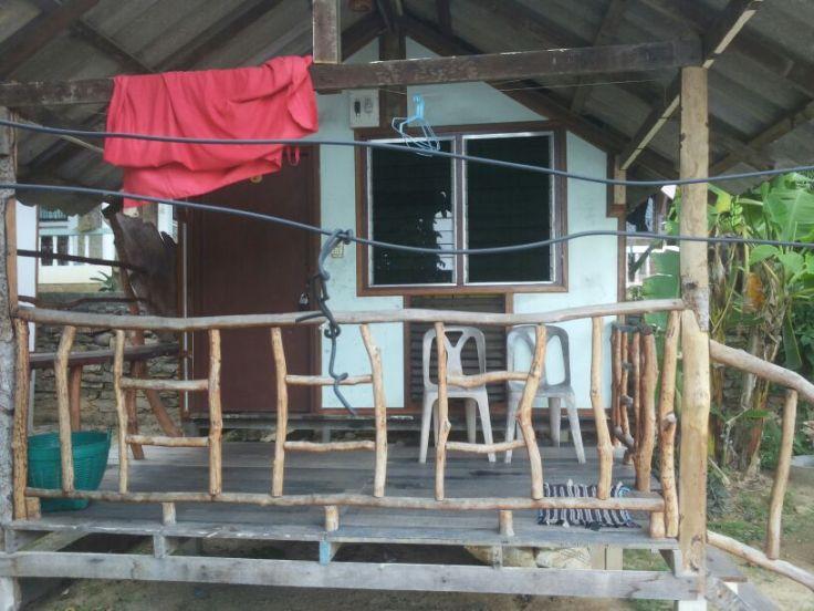 Desondanks is ons houten hutje goed toeven