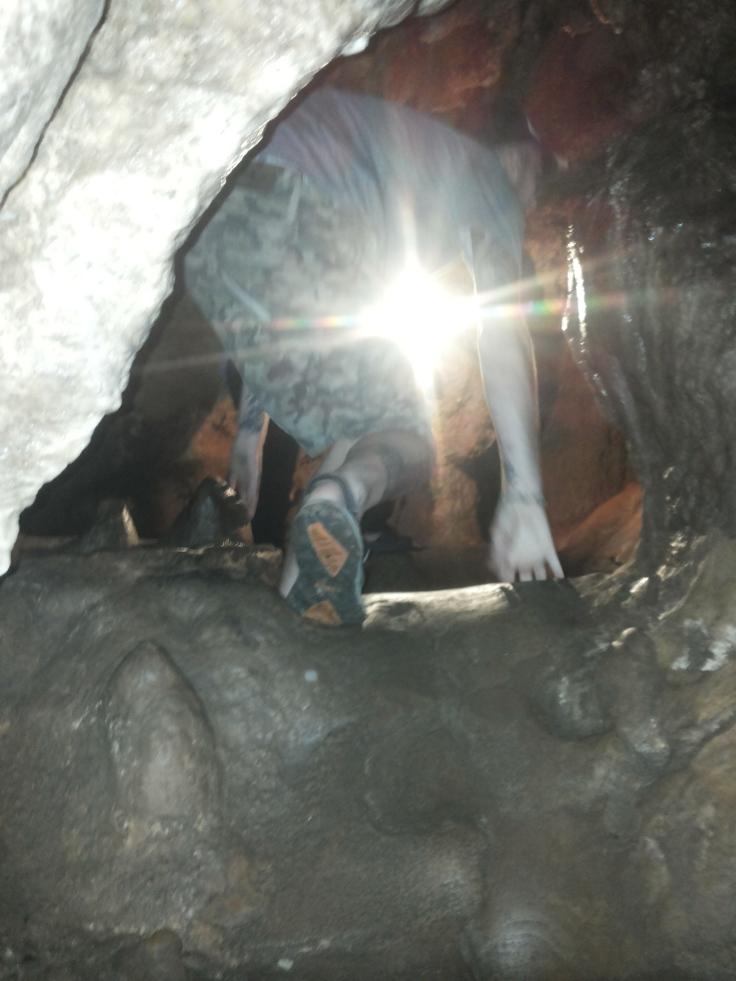 Soms best krap in de kilometers lange grottenstelsel