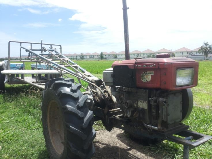 In onze ogen maar eenvoudige machines, maar voor de boer een beste helpende hand