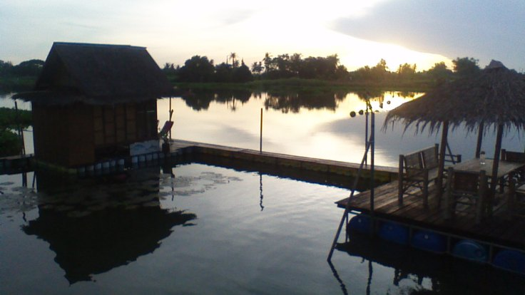 Onze watervilla