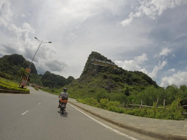 De ingang van het National Park
