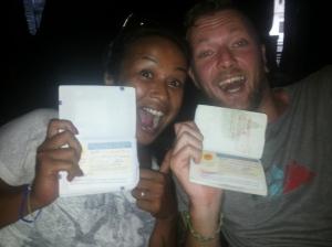 Nieuw visum in the pocket!