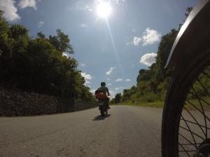 Flink wat asfalt gezien