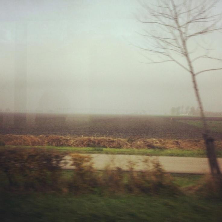 En het landschap is weer heel anders dan dat we gewend waren...