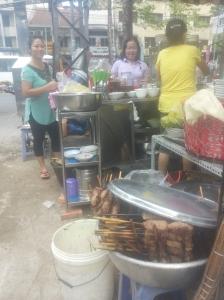 Restaurantje op straat