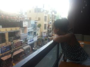Lekker even bijkomen en genieten van het straatleven